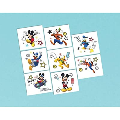 "Disney ""Mickey on the Go"" Tattoos, Party Favor: Toys & Games"