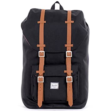 Sac à dos Herschel Little America Black/Tan noir