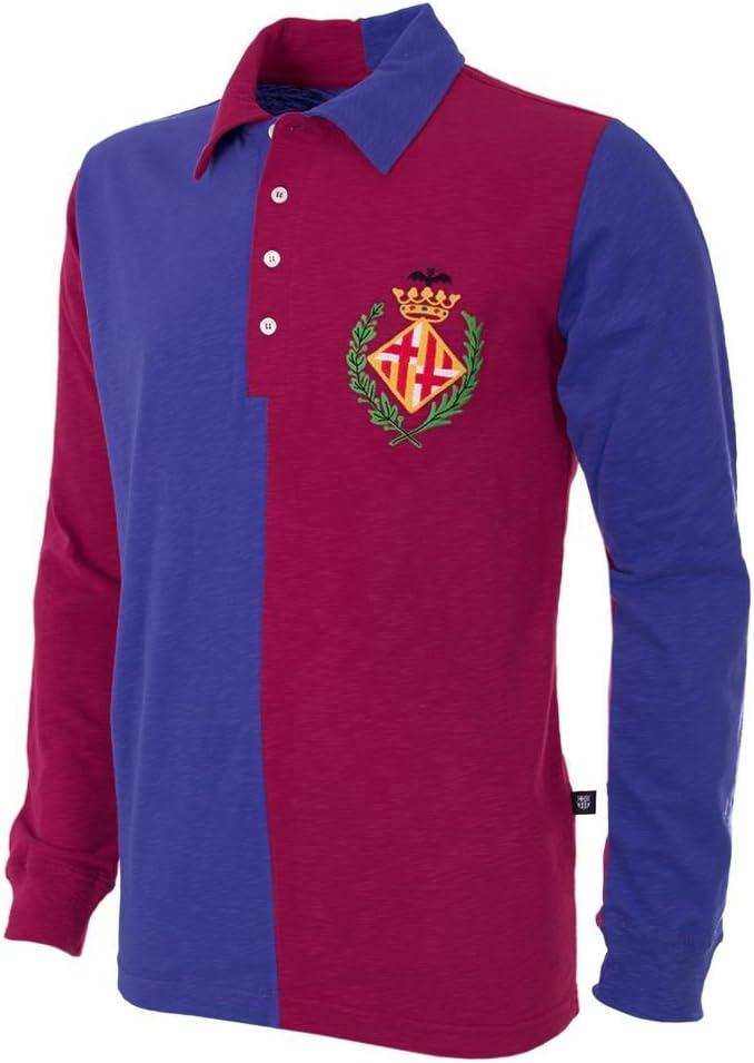 copa Football - Camiseta Retro FC Barcelona 1899 (S): Amazon.es ...