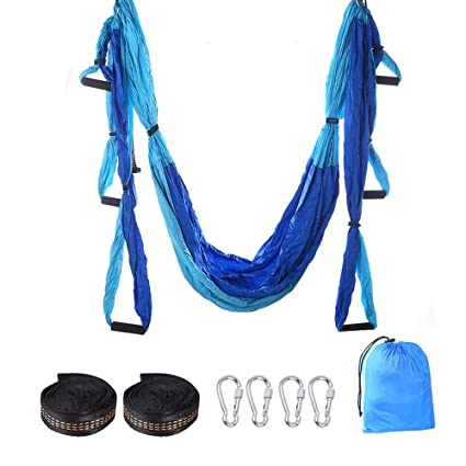 Amazon.com: Yoga Swing,Yoga Hammock , Aerial Yoga Hammock ...