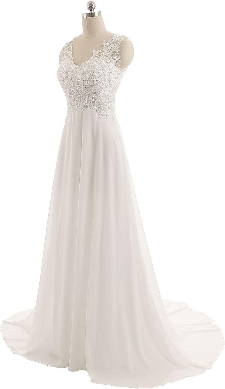 JAEDEN Wedding Dress Beach Bridal Dress Lace Wedding Gown A Line Bride Dresses