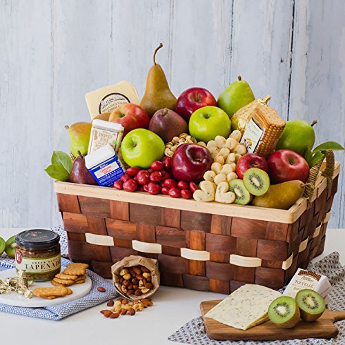 Connoisseur Cheese Basket - The Fruit Company by The Fruit Company