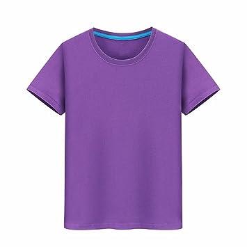 XIAOGEGE El Purple t Igual Creative Ropa T-Shirt Camisetas Personalizadas, Ropa de Media