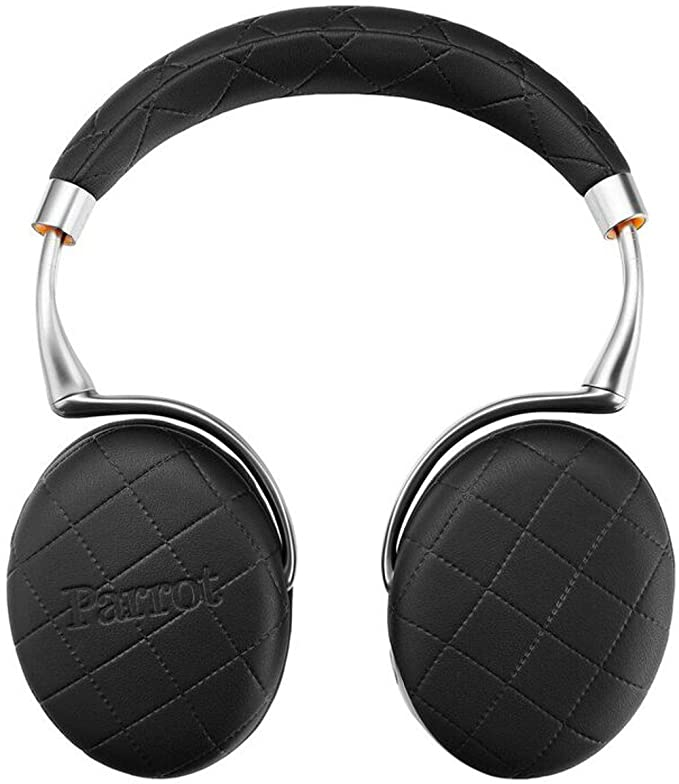 Parrot Zik 3 -over Stitched Bluetooth Headphone (Black) Audio Headphones at amazon