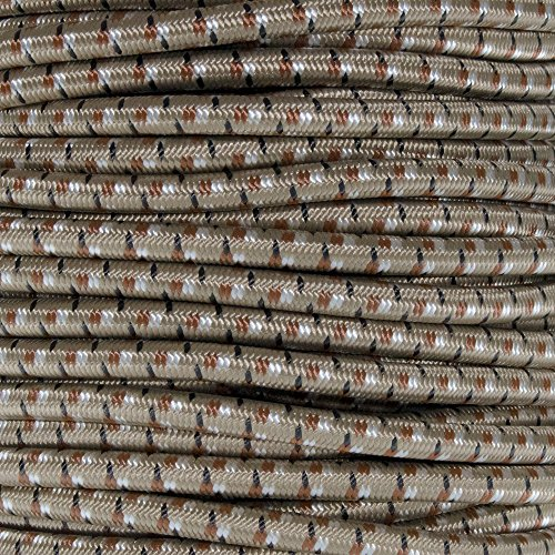 - West Coast Paracord Marine Grade Shock Cord 1/4-inch - Lengths up to 1000 feet - Made in USA (10 Feet, Desert Camo)