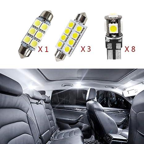 Cobear para 318 320 320i 325 335 E90 E92 Super Brillante Fuente de luz LED Interior