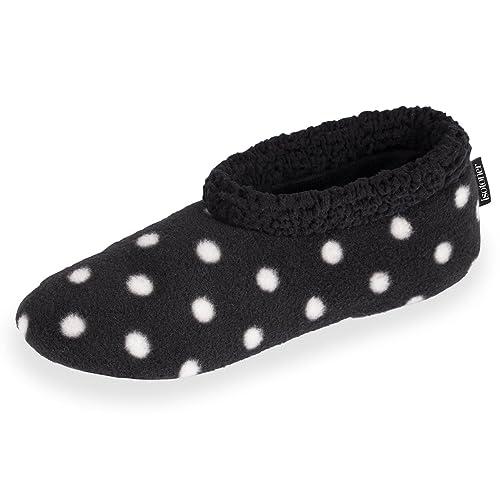 Botines de casa para mujer Isotoner 41/42: Amazon.es: Zapatos y complementos