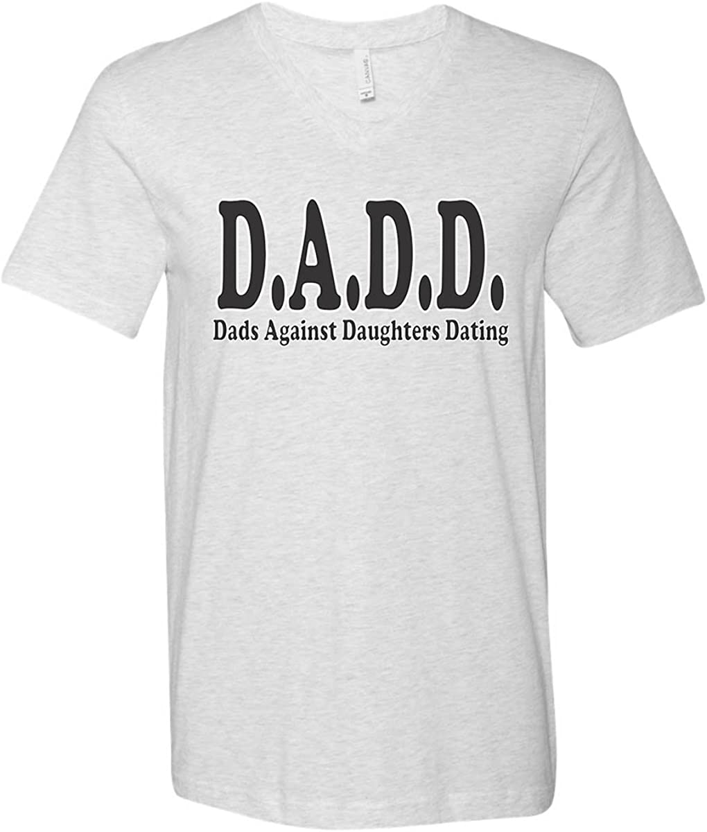 Father Of The Greatest Daughter V-neck T shirt  Father/'s Day Gift