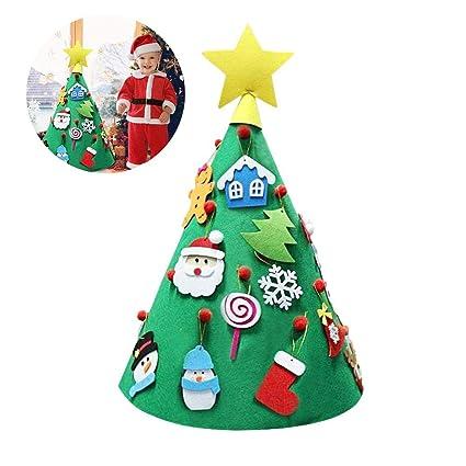 iBaste Cappello di Natale fai da te Feltro di Lana Ornamento di Natale a6aa90c71453