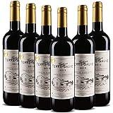 【法国波尔多AOC红酒】法国进口 泰菲干红葡萄酒 750ml*6