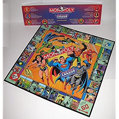 Monopoly Justice League of America Collector's Edition: Toys & Games