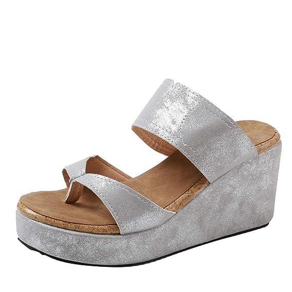 ABsolute Zapatos Zapatos de Mujer Huecos, Mujer con Punta Estrecha, Botines de Color Puro, Hebilla, Correa, tacón Cuadrado, Zapatos Individuales: Amazon.es: ...