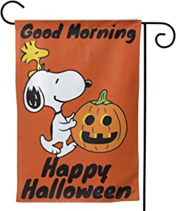 Stockdale Halloween Evil Pumpkin Flag Trick or Treat Decorative Garden Flag for Home | 2-Sided