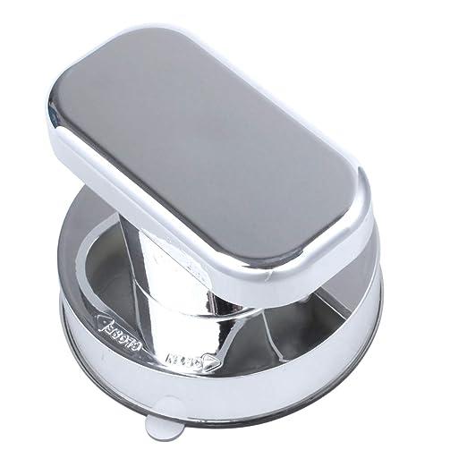 TOOGOO Manija de Ventosa de Tirador del refrigerador del cajon Tirador del bano de Montaje en pared Tirador Sin tornillos Hardware de muebles