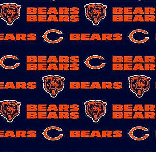Chicago Bears Fabric - Chicago Bears Football NFL 58