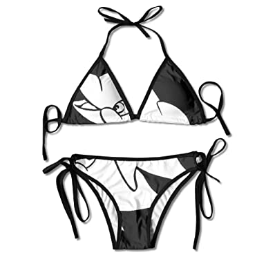 6638198a55917 Amazon.com  PIOL Cute Dolphin Swimsuits Bikinis Thong Swimsuit for ...