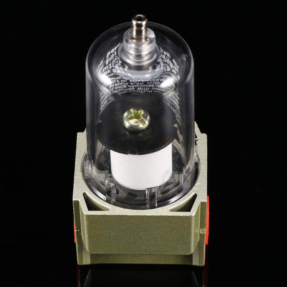 Agua 1//4 Pulgada Garosa Filtro De Aire Particulado Desecante del Secador para Herramientas De Compresor Aceite y La L/ínea De Aire Elimina Suciedad