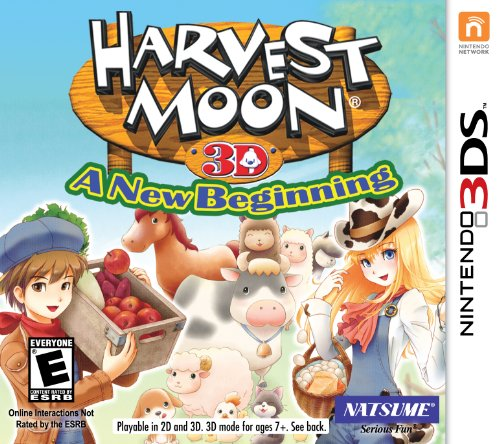 Harvest Moon 3D: A New Beginning - Nintendo 3DS (Best 3ds Role Playing Games)