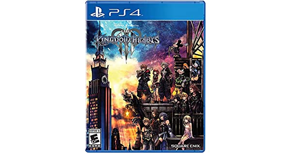 Amazon com: Kingdom Hearts III - PlayStation 4: Square Enix