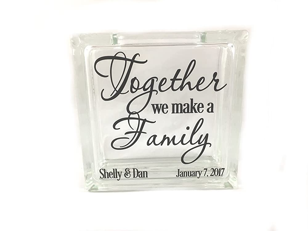 Blended Family Sand Ceremony Unity Set-Together We Are One Family-TPUWUS40