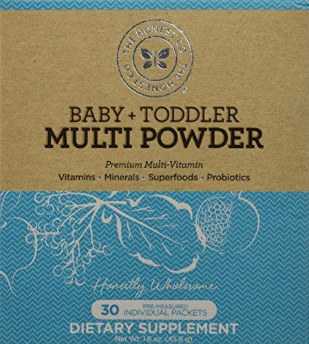 The Honest Company Baby + Toddler Multi Powder, 30 Count (Honest Company Baby Vitamins compare prices)