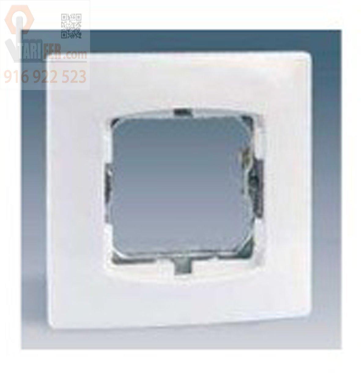 Simon - 27601-65 placa modulo 1ancho/2e s/garras s-27 bl nieve Ref. 6552765166