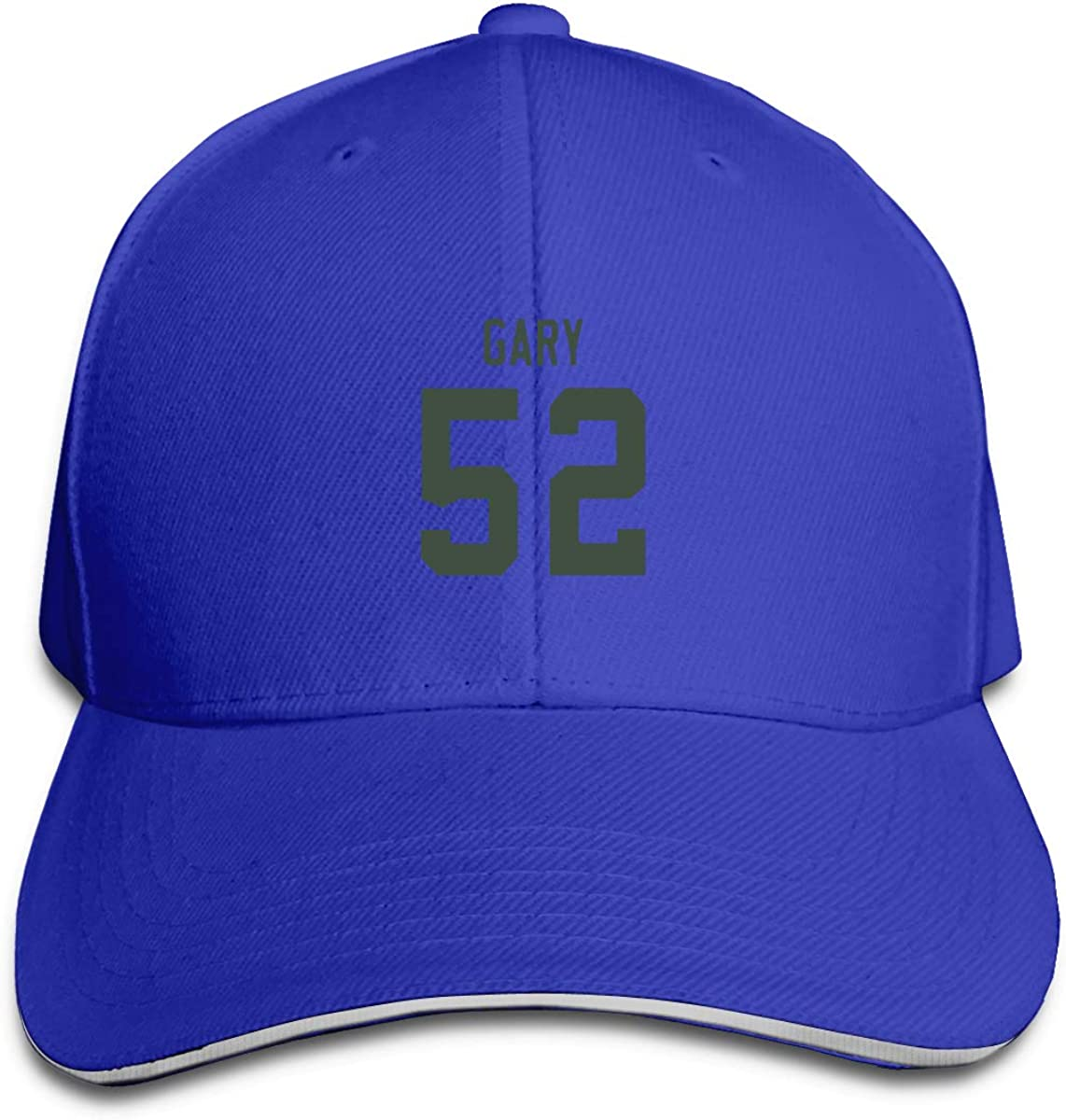 Haggai Romeo Unisex Football Rashan-Gary Snapback Baseball Cap Flat Brim Hip Hop Hat Adjustable Dad Hat