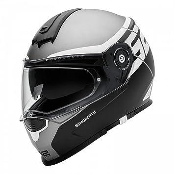 SCHUBERTH S2 DVS - Casco de moto para deportes, color gris