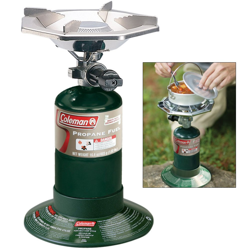 Amazoncom Coleman Bottle Top Propane Stove Sports Outdoors