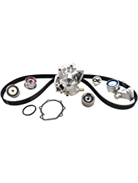 ACDelco TCKWP304C Professional Timing Belt and Water Pump Kit with Tensioner and 3 Idler Pulleys