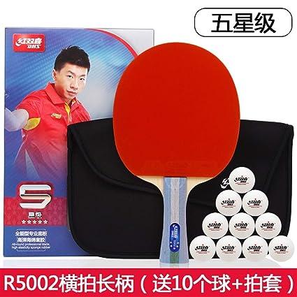 YXHUI Raqueta de tenis de mesa, raqueta de tenis de mesa raqueta ...