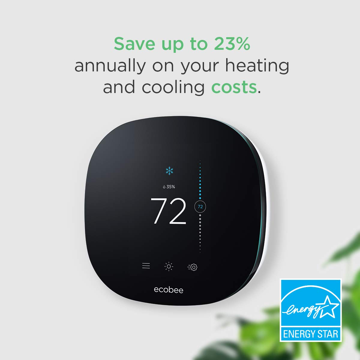 ecobee3 Smart Wi-Fi thermostat