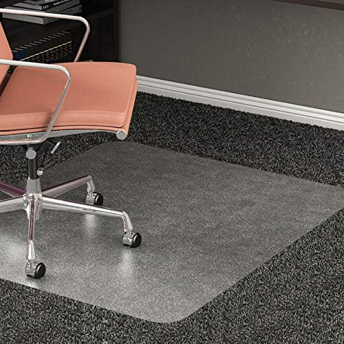 Realspace All-Pile Studded Chair Mat, 36 x 48 , Clear