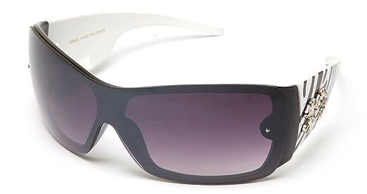 Amazon.com  IG Women s Unique Shield Fashion Sunglasses  Clothing 0c1624f8ba