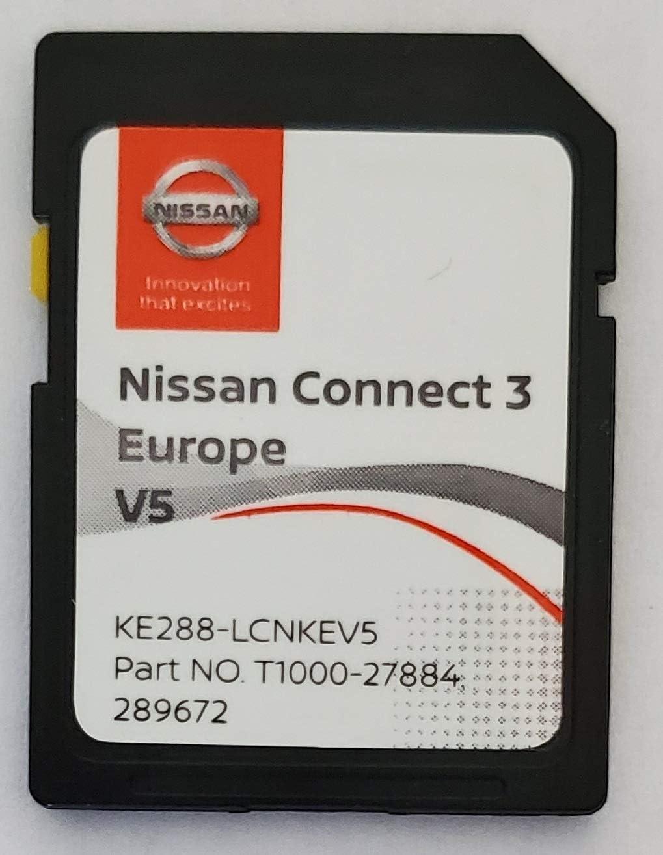 Tarjeta SD GPS Europe 2020 v5 - Nissan Connect 3 LCN2 - (Database Q1.2019