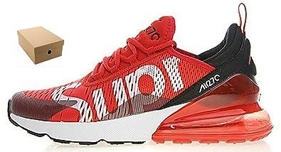 Nike Adidas Dolce&Gabbana Air Max 270 Scarpe da Ginnastica X Red White Ah8050 610 Uomo Donna Scarpe da Fitness