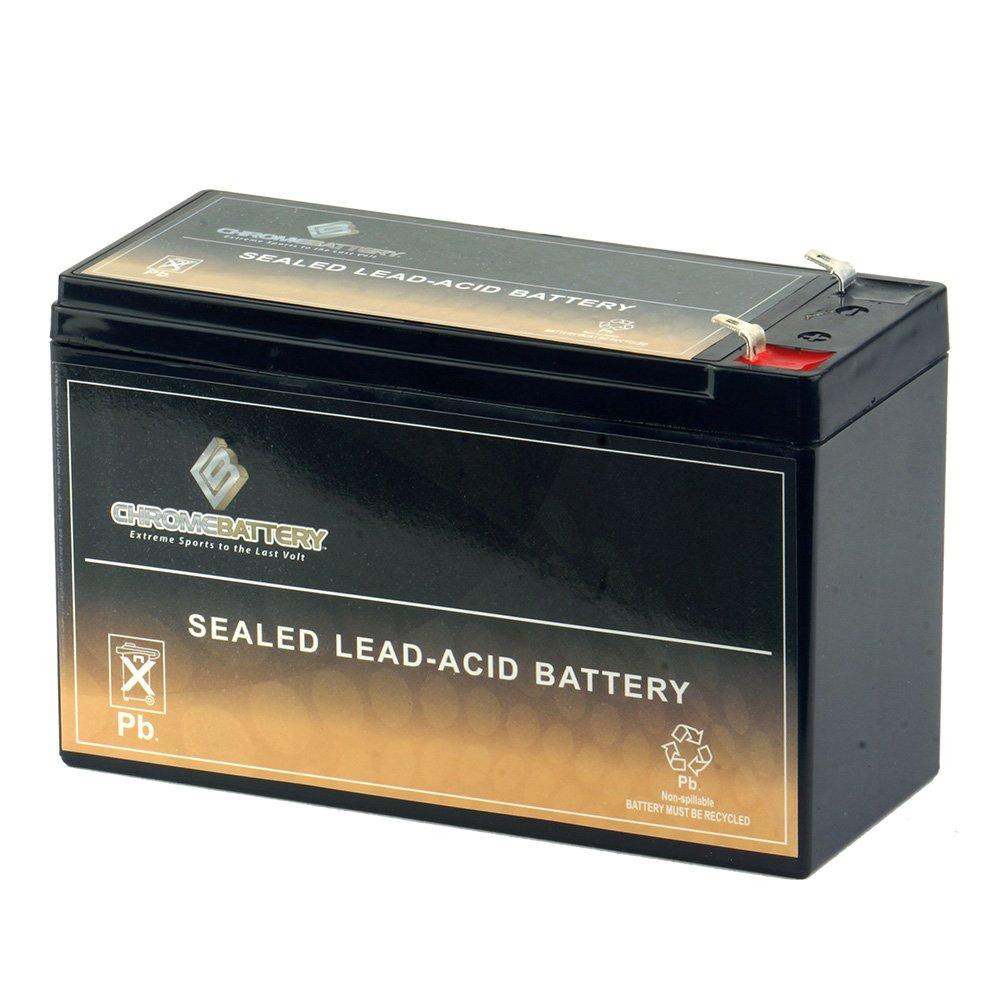 12V 7AH SLA Battery Replaces hr9-12 gp1270 sla1075 gp1270f2 wp7-12 bp8-12