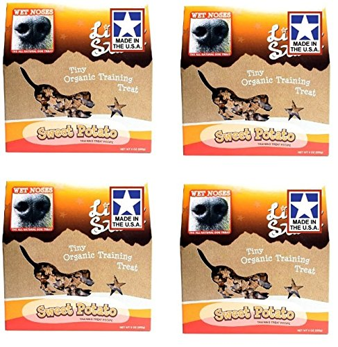 Wet Noses Little Stars Organic Dog Training Treat - Sweet Potato -9oz (4 Pack) (Wet Noses Training Treats compare prices)