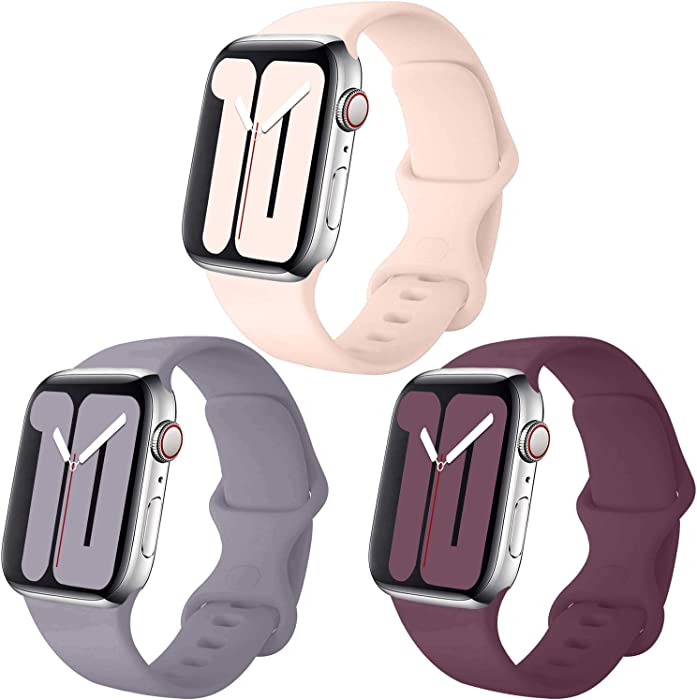 Top 10 Apple Watch 4 Band Wine And Pink