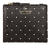 Kate Spade New York Women's Brooks Drive Adalyn Wallet, Black/Cream, One Size
