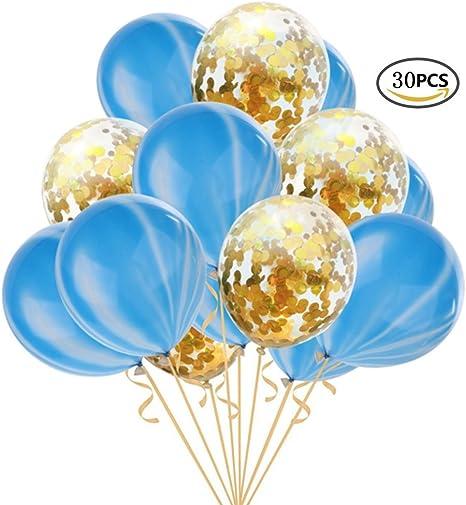 20pcs 12/'/' Marble Agate Latex Balloon Party Decor Confetti Latex Helium Balloons