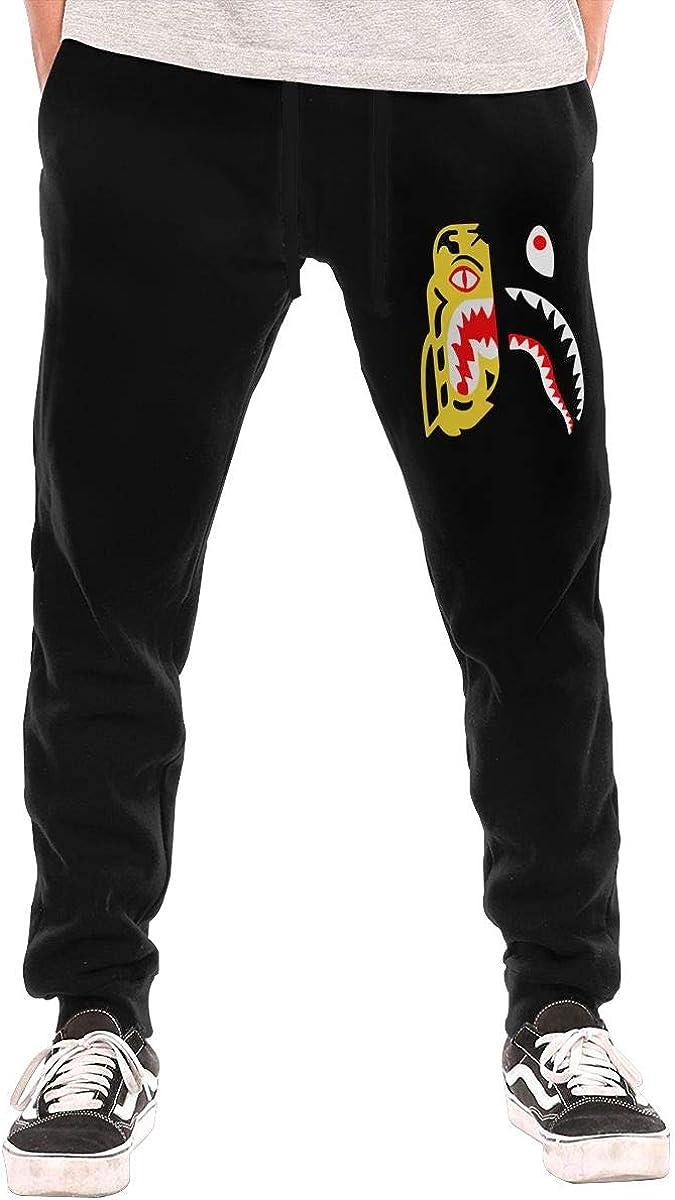 Bape Shark Men's Breathable Casual Soft Sweatpants Sport Pants