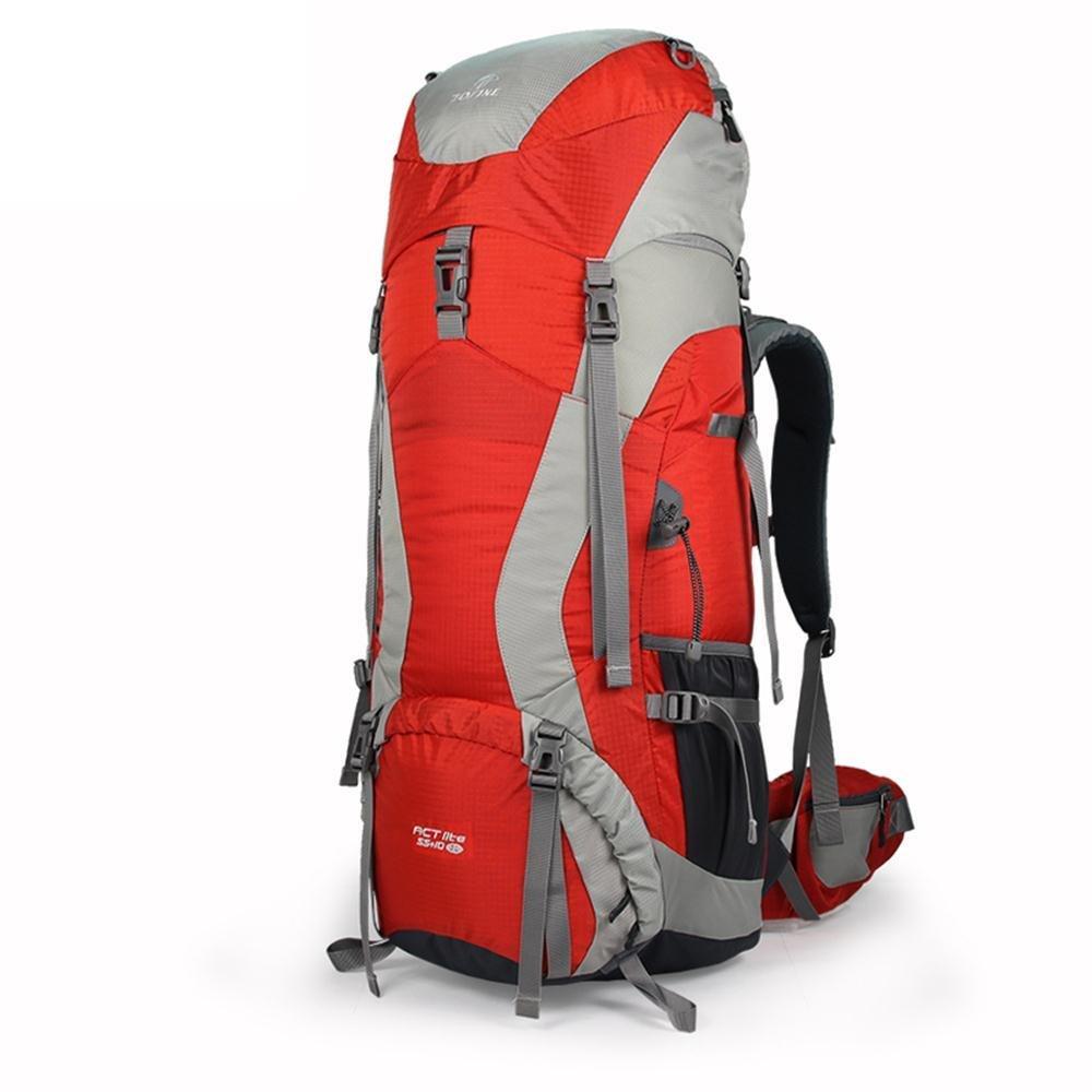 ALUK-Die professionelle Bergsteigertasche Reisetasche doppelter Schultersatz mit gro?er Kapazit?t im Freien wasserdichte Wander Camping Rucksack