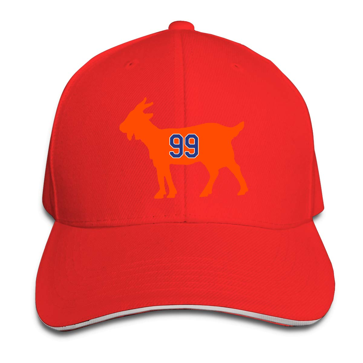 Moore Me Adjustable Baseball Cap Edmonton Gretzky Goat Cool Snapback Hats