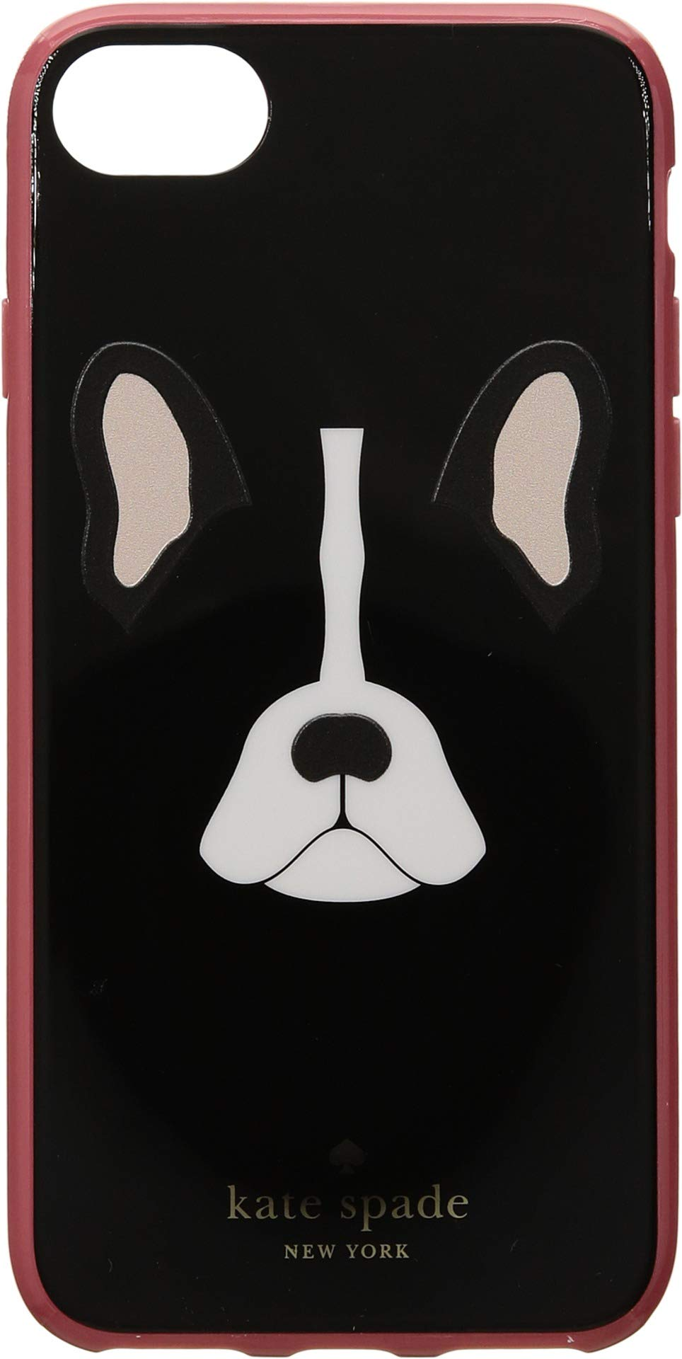 Kate Spade New York Women's Antoine Phone Case for iPhone 8 Black Multi One Size