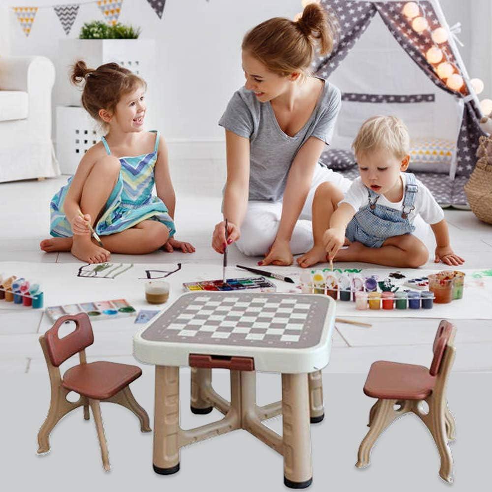 XXFBag - Juego de Mesa y sillas para niños, Mesa de ...
