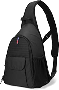 DSLR Camera Bag Waterproof Camera Sling Backpack with Rain Cover Outdoor Travel Backpack Camera Bag Case for Laptop Canon Nikon Sony Pentax DSLR Cameras,Lens,Tripod and Accessories