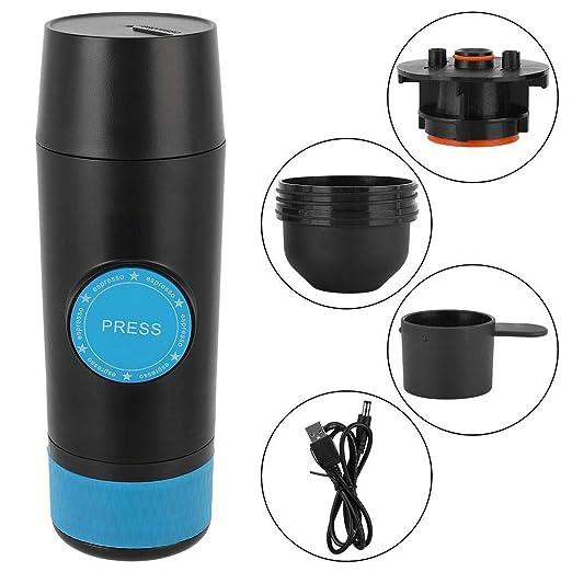 Mini Cafetera, Mini USB Cargador portátil de mano Máquina de café ...