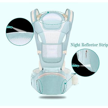 HBIAO Recién Nacidos Baby Carrier, Taburete de la Cintura ...