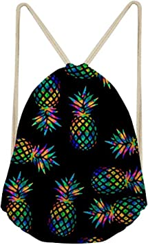 Drawstring Backpack Pineapple Gym Bag